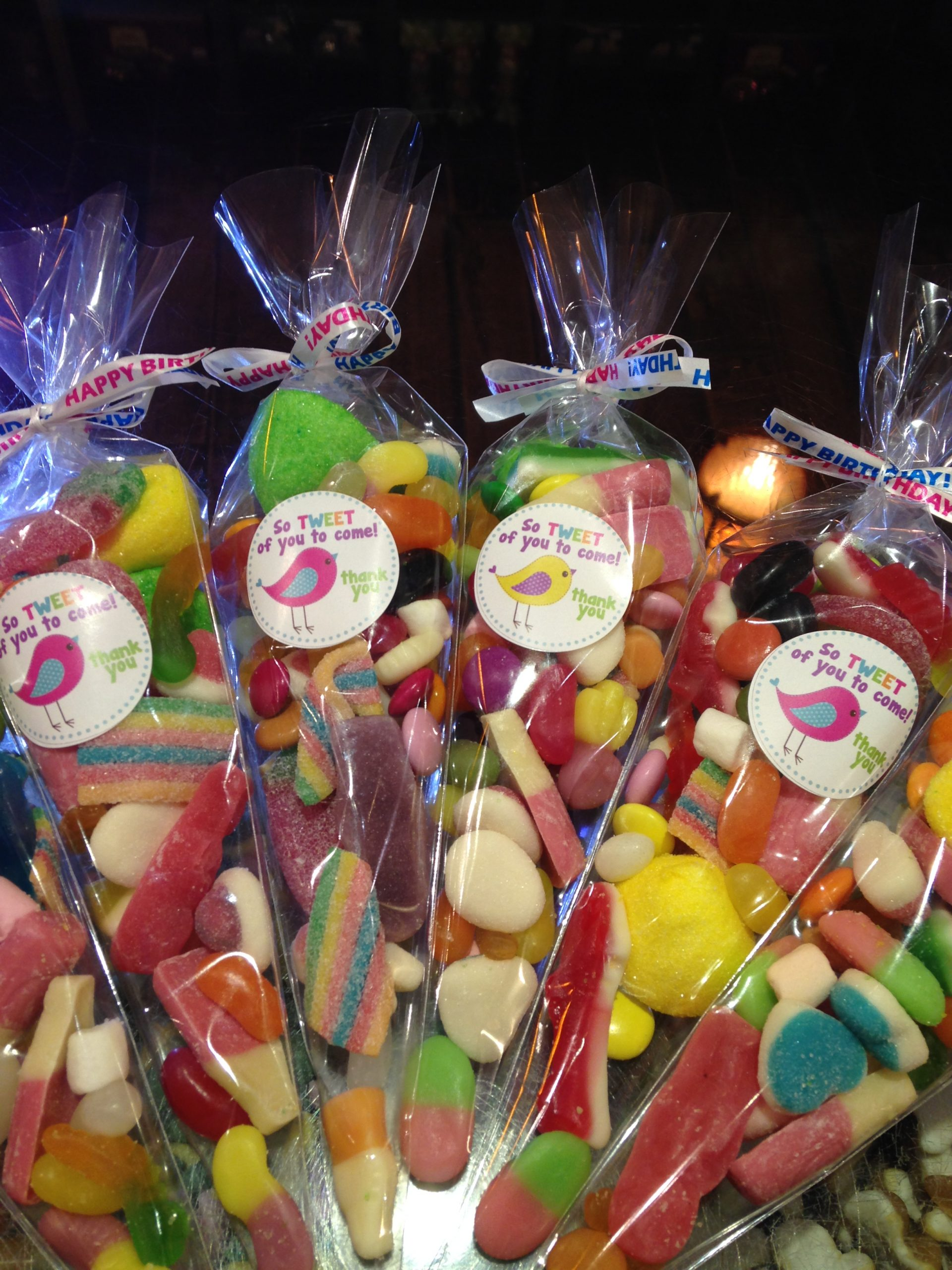 Birthday Party Favours!